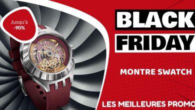 Montre Swatch Black Friday : les meilleures offres et promos