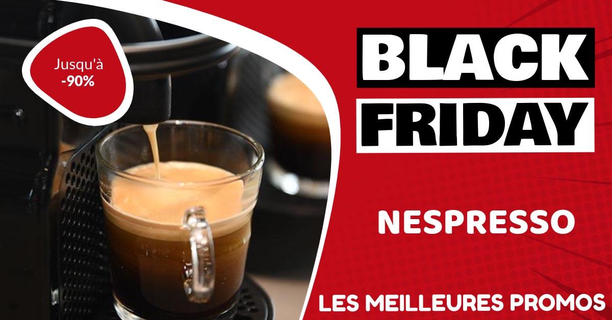 Nespresso Black Friday : les meilleures offres et promos