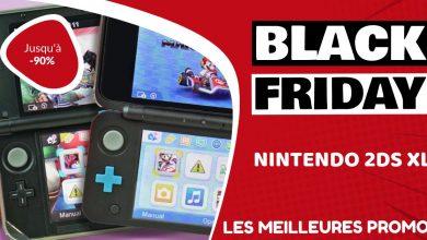 Nintendo 2DS XL Black Friday : les meilleures offres et promos