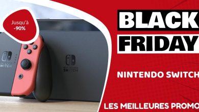 Nintendo Switch Black Friday : les meilleures offres et promos