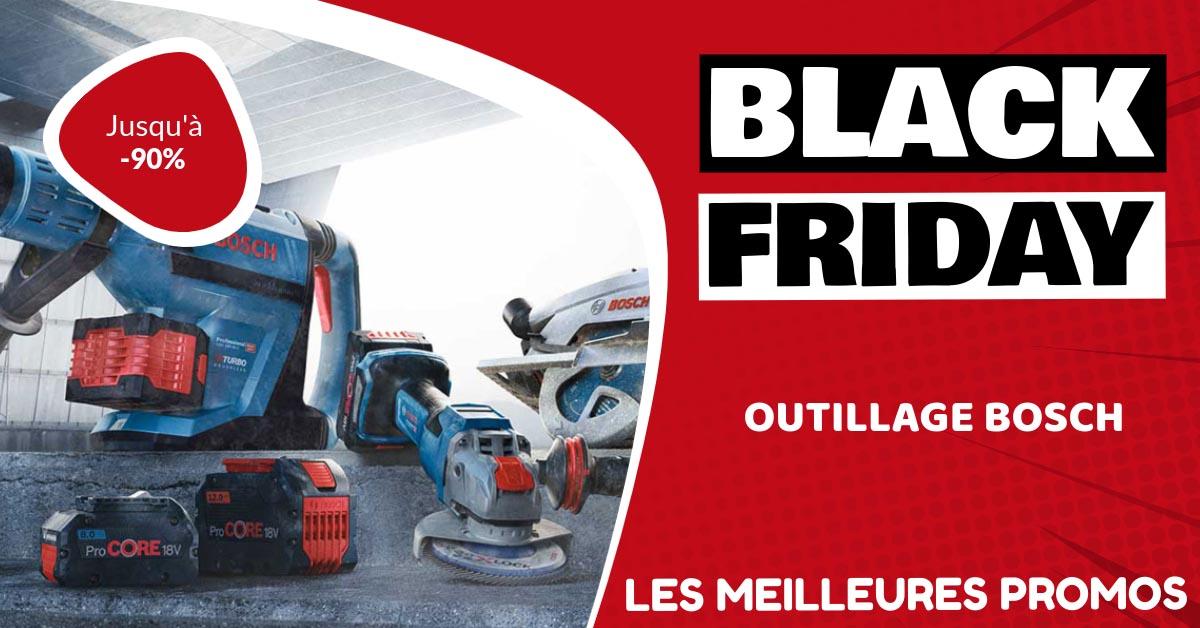 Outillage Bosch Black Friday : les meilleures offres et promos