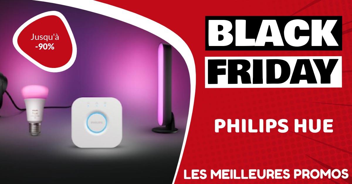 Philips HUE Black Friday : les meilleures offres et promos