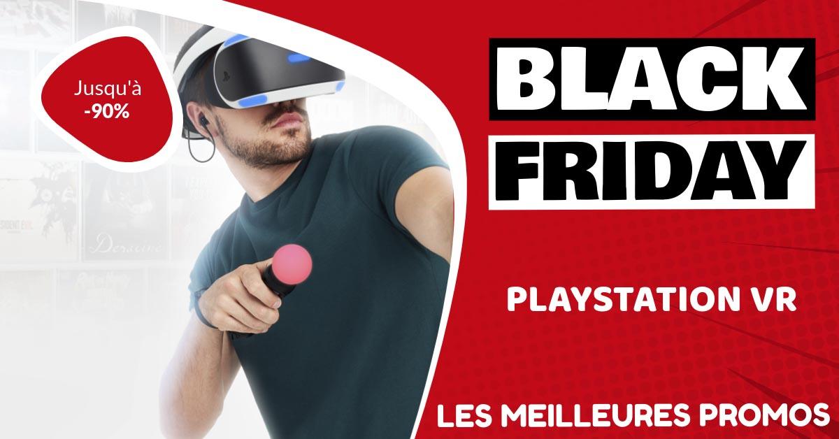 Playstation VR Black Friday : les meilleures offres et promos