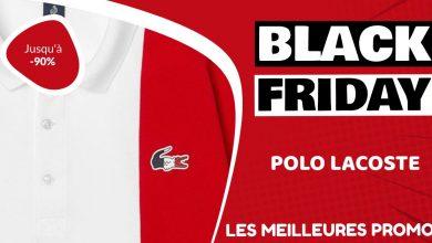 Polo Lacoste Black Friday : les meilleures offres et promos