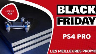 PS4 Pro Black Friday : les meilleures offres et promos