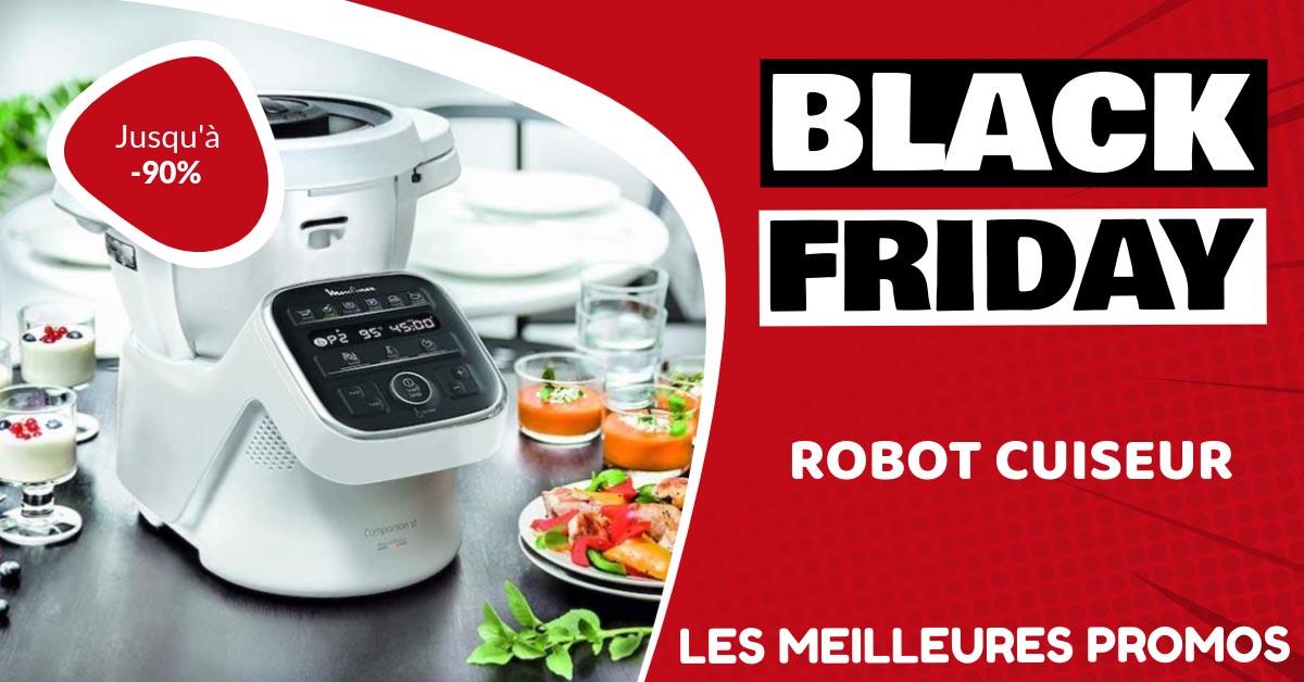 Robot cuiseur Black Friday : les meilleures offres et promos