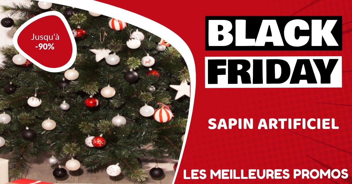 Sapin artificiel Black Friday : les meilleures offres et promos