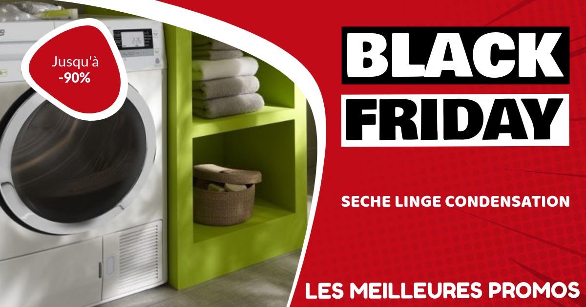 sèche-linge à condensation Black Friday : les meilleures offres et promos