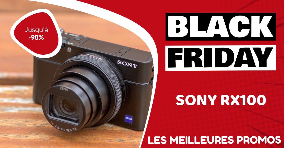 Sony RX100 Black Friday : les meilleures offres et promos