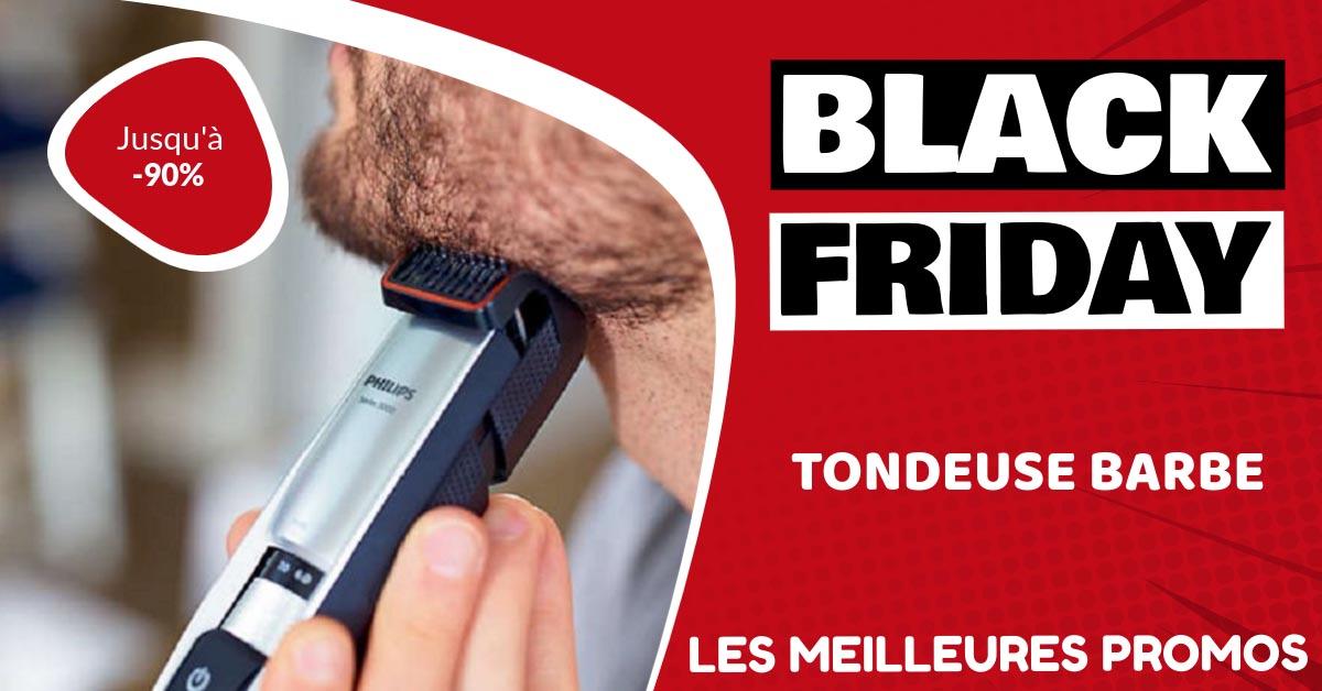 Tondeuse barbe Black Friday : les meilleures offres et promos