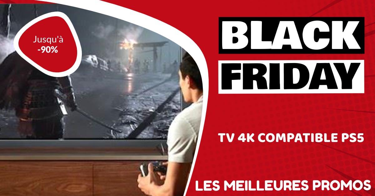 TV 4k compatible PS5 Black Friday : les meilleures offres et promos