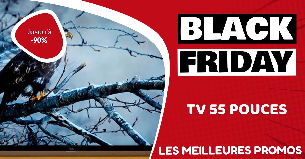 TV 55 pouces Black Friday : les meilleures offres et promos