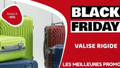Valise rigide Black Friday : les meilleures offres et promos
