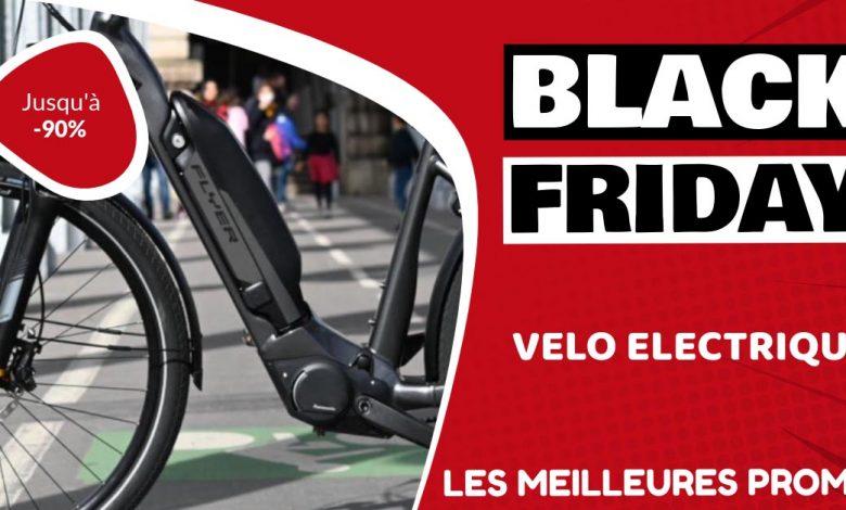 Vélo électrique Black Friday : les meilleures offres et promos