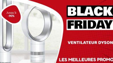 Ventilateur Dyson Black Friday : les meilleures offres et promos