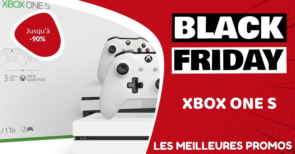 Xbox One S Black Friday : les meilleures offres et promos