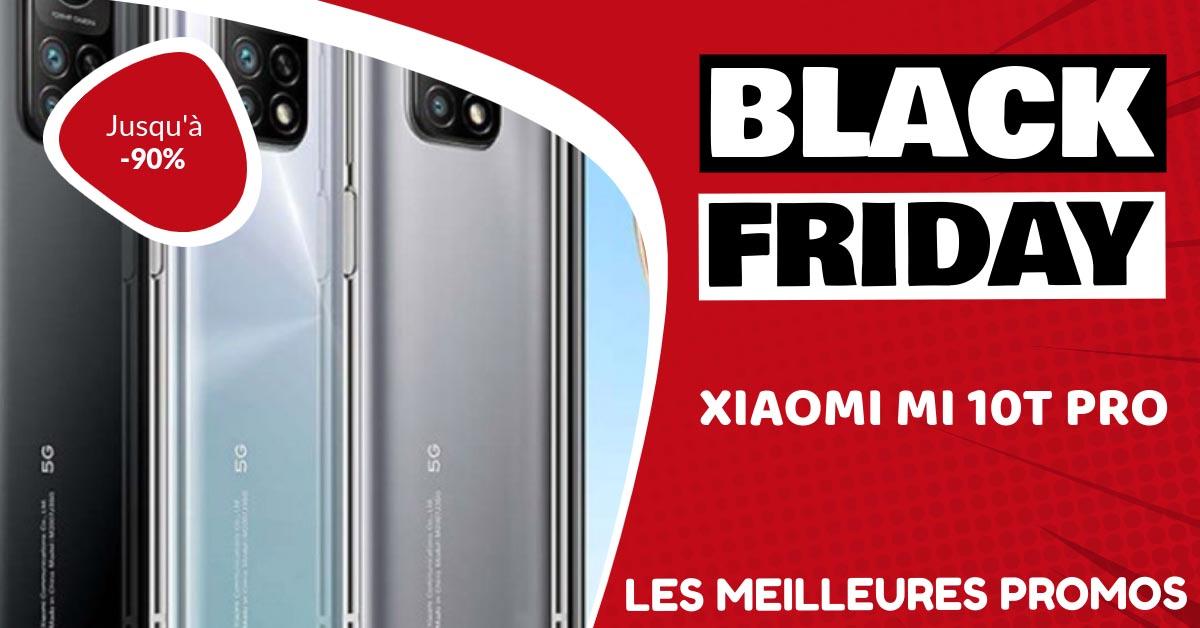 Xiaomi Mi 10T Pro Black Friday : les meilleures offres et promos