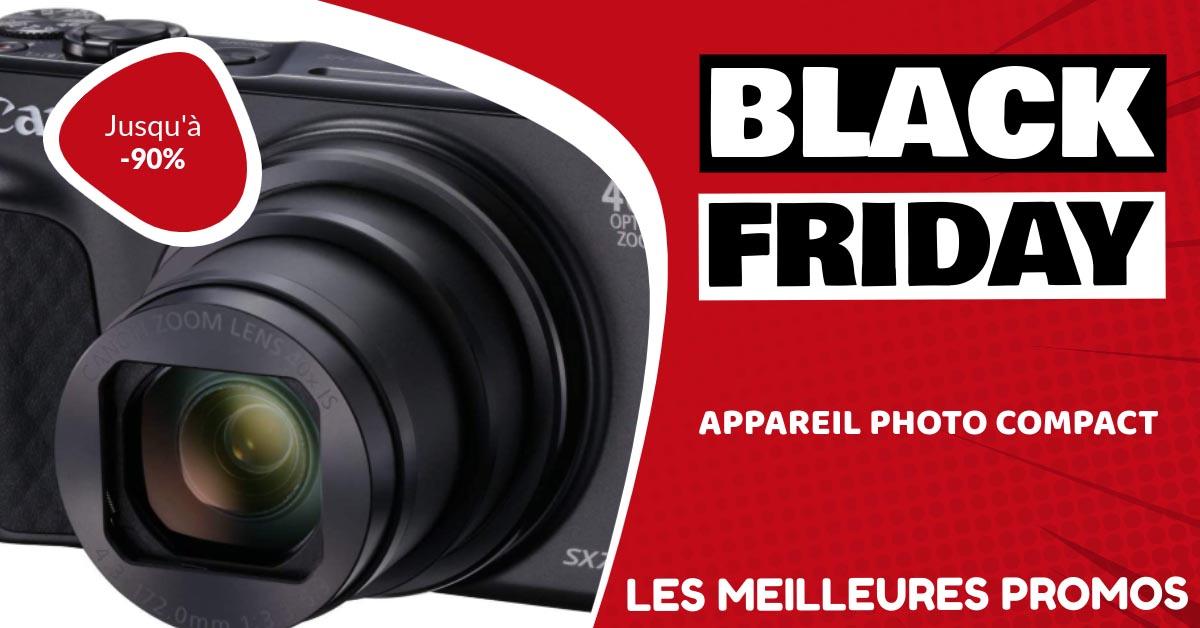 Appareil photo compact Black Friday : les meilleures offres et promos