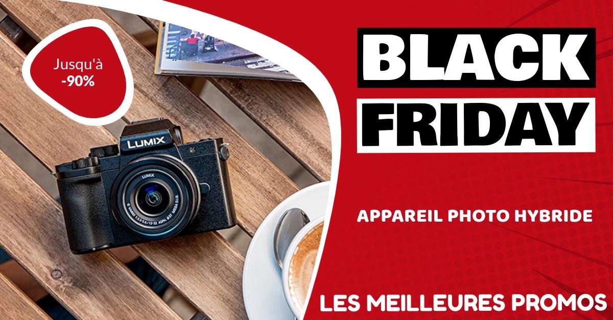 Appareil photo hybride Black Friday : les meilleures offres et promos