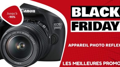 Appareil photo reflex Black Friday : les meilleures offres et promos