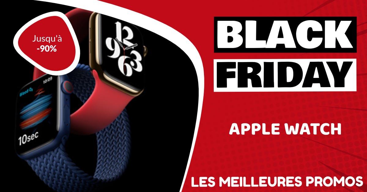 apple watch black friday : les meilleures offres et promos