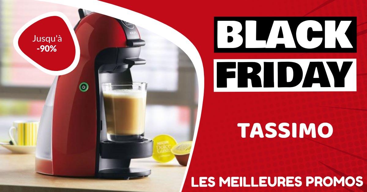 Cafetière Tassimo Black Friday : les meilleures offres et promos