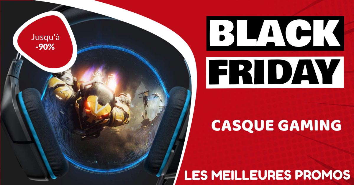 Casque gamer Black Friday : les meilleures offres et promos