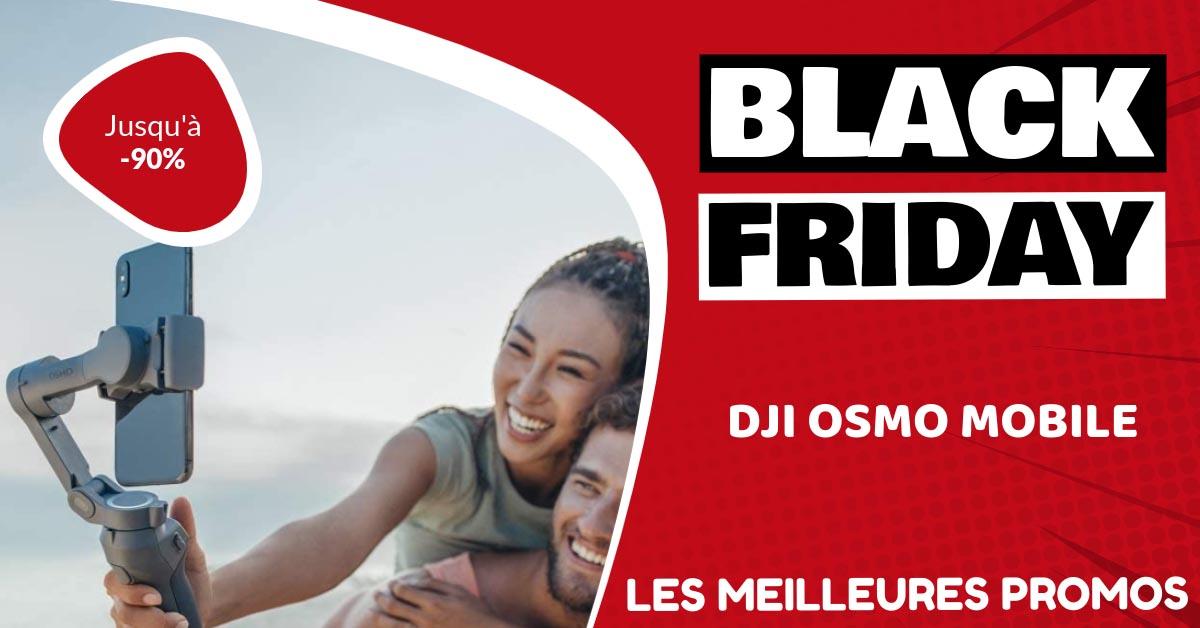 Dji Osmo Mobile Black Friday : les meilleures offres et promos