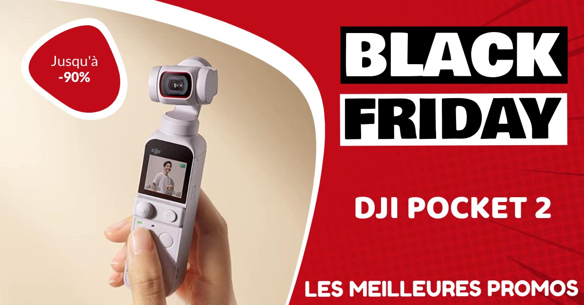 Dji Pocket 2 Black Friday : les meilleures offres et promos