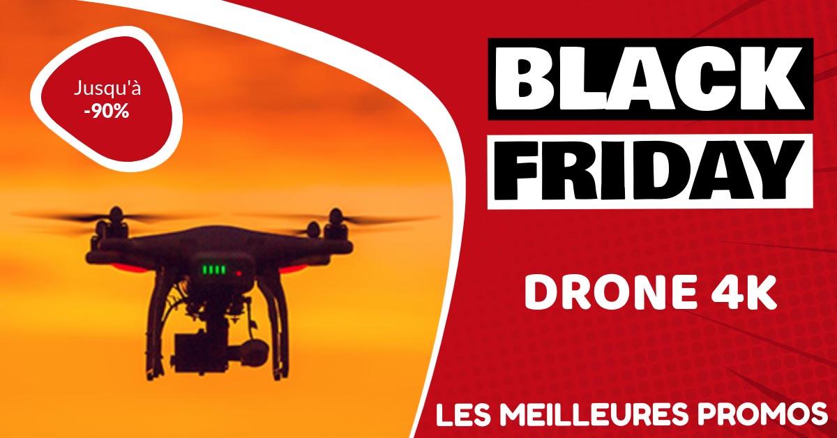 Drone 4k Black Friday : les meilleures offres et promos