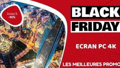 Ecran PC 4k Black Friday : les meilleures offres et promos