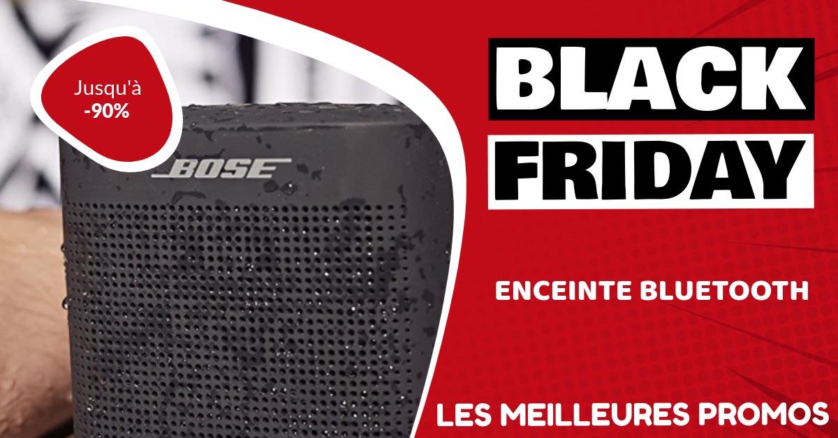 Enceinte bluetooth Black Friday : les meilleures offres et promos