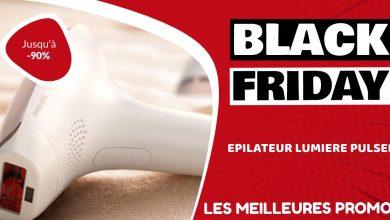 Epilateur lumière pulsée Black Friday : les meilleures offres et promos