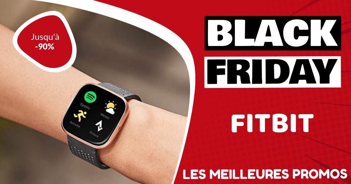 Fitbit Black Friday : les meilleures offres et promos