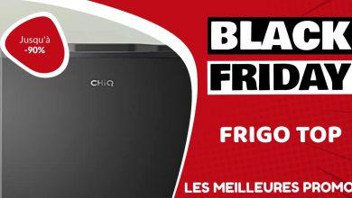 Frigo top Black Friday : les meilleures offres et promos