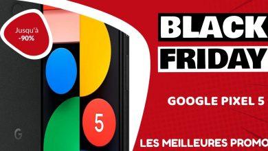 Google Pixel 5 Black Friday : les meilleures offres et promos