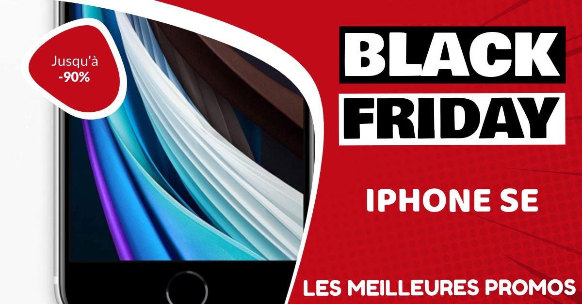 Iphone SE Black Friday : les meilleures offres et promos
