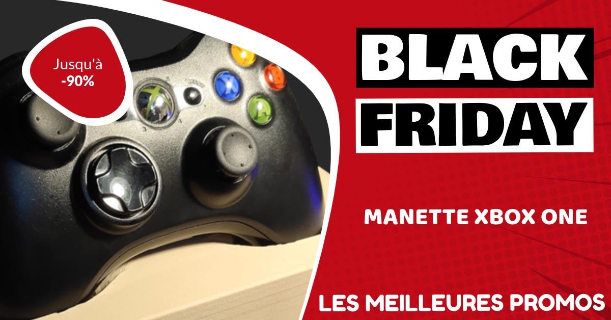Manette Xbox one Black Friday : les meilleures offres et promos