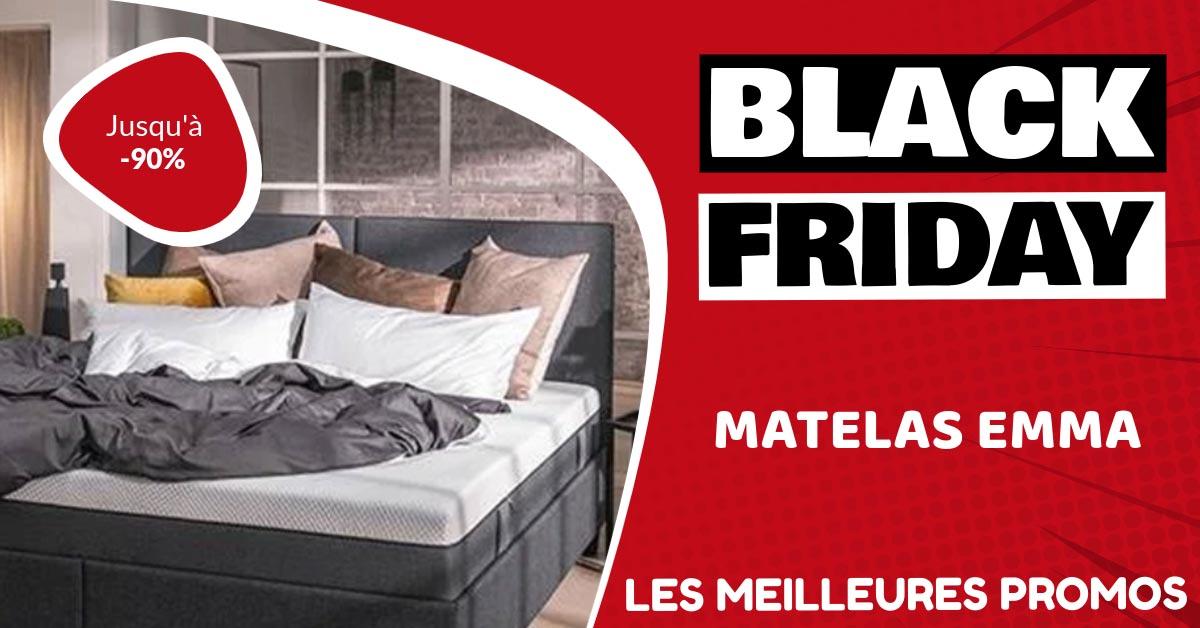 Matelas Emma Black Friday : les meilleures offres et promos