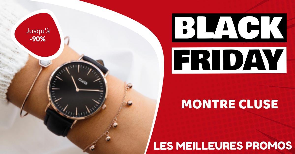 Montre Cluse Black Friday : les meilleures offres et promos