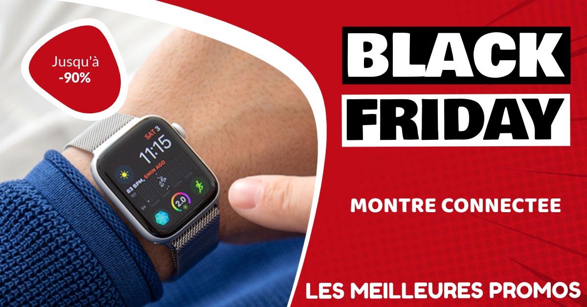 Montre connectée Black Friday : les meilleures offres et promos