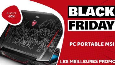 MSI Black Friday : les meilleures offres et promos