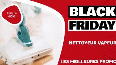 Nettoyeur vapeur Black Friday : les meilleures offres et promos