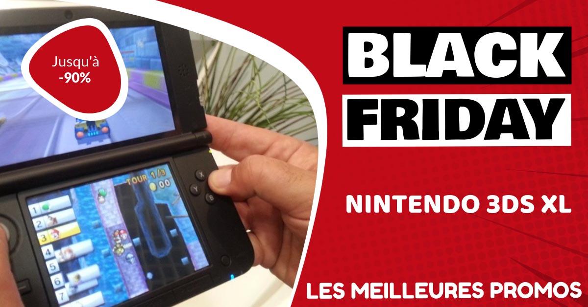 Nintendo 3DS XL Black Friday : les meilleures offres et promos