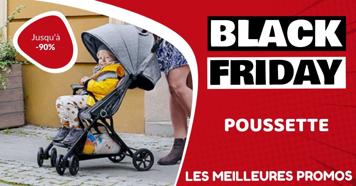 Poussette Black Friday : les meilleures offres et promos