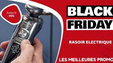 Rasoir électrique Black Friday : les meilleures offres et promos
