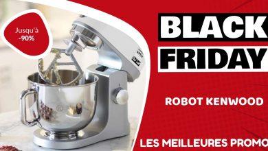 Robot pâtissier Kenwood Black Friday : les meilleures offres et promos