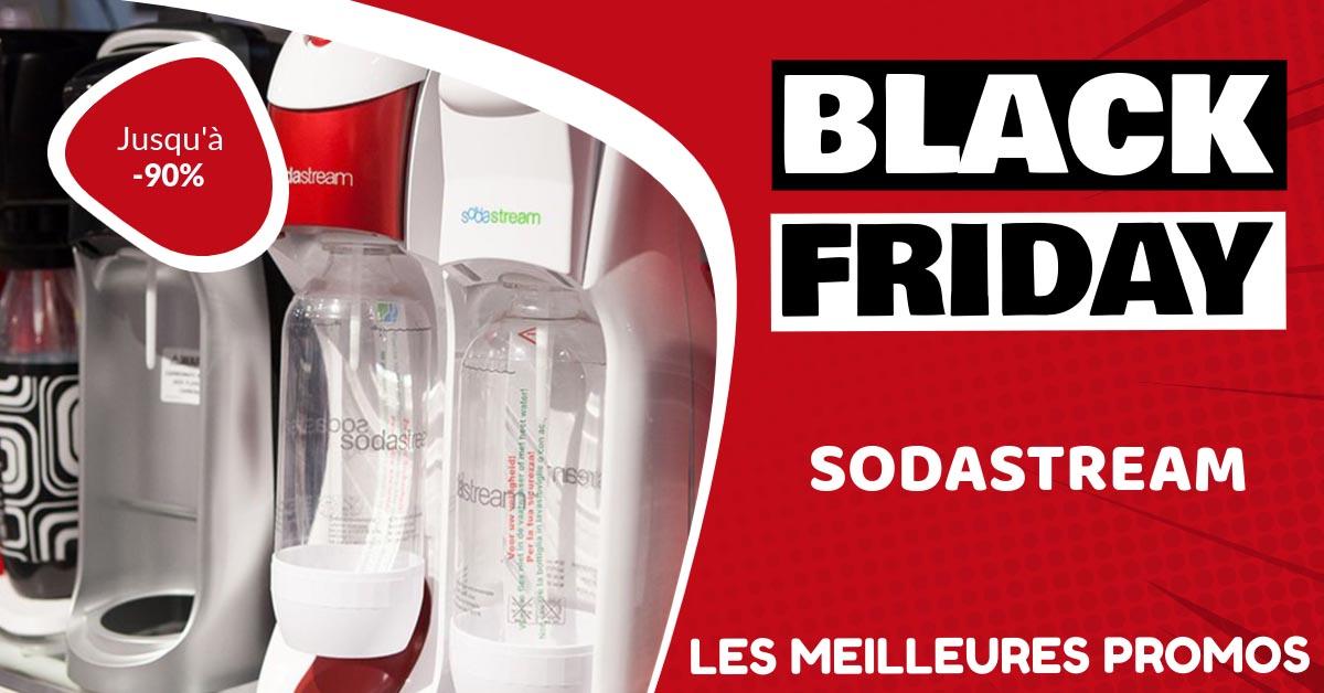 Sodastream Black Friday : les meilleures offres et promos