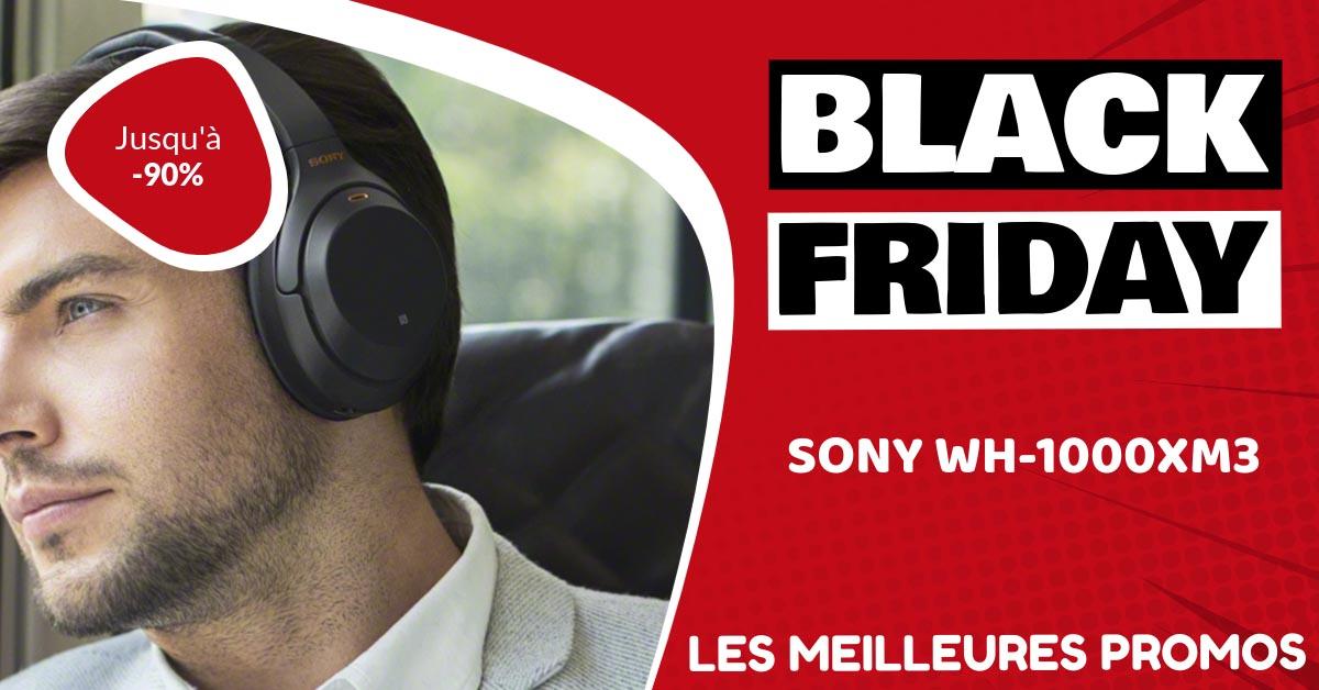 Sony WH-1000xm3 Black Friday : les meilleures offres et promos