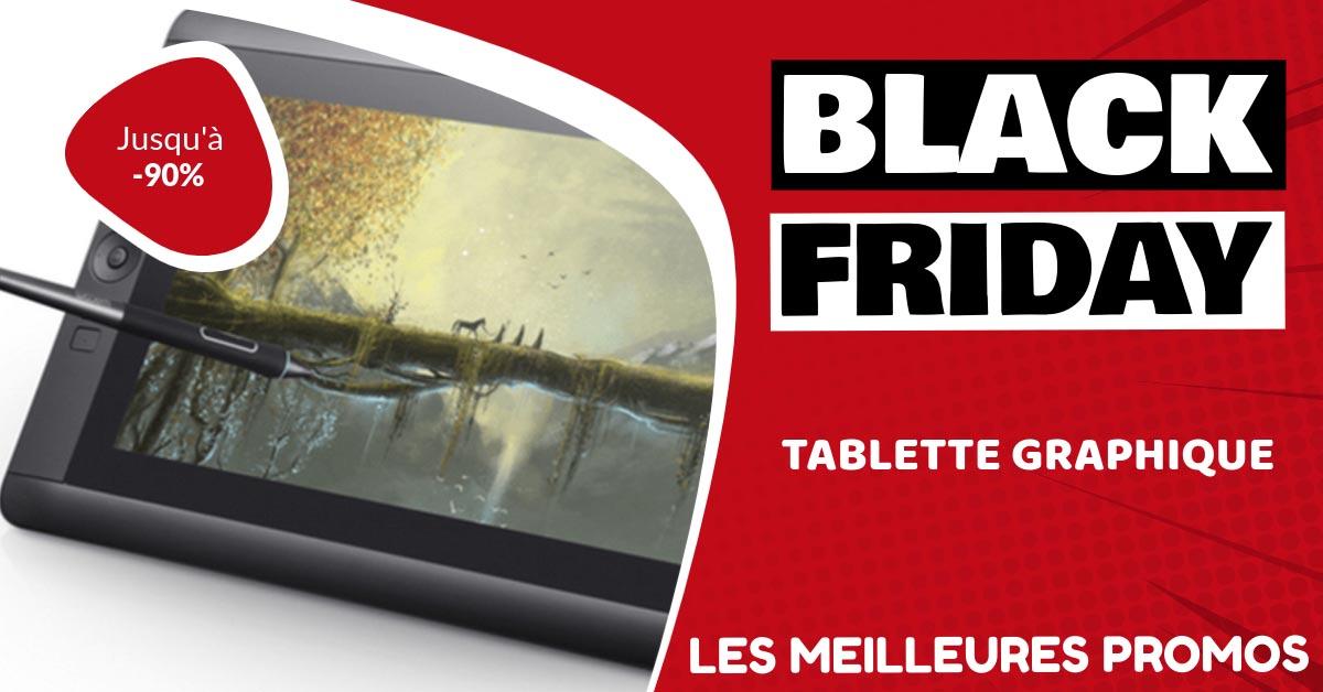 Tablette graphique Black Friday : les meilleures offres et promos